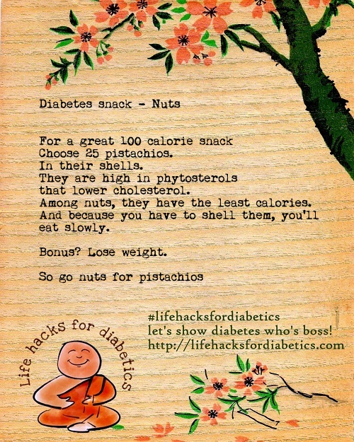 Go nuts #lifehacksfordiabetics
