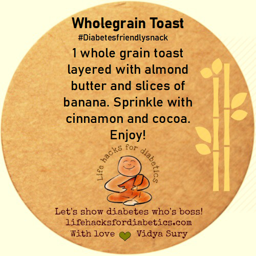 Whole grain toast